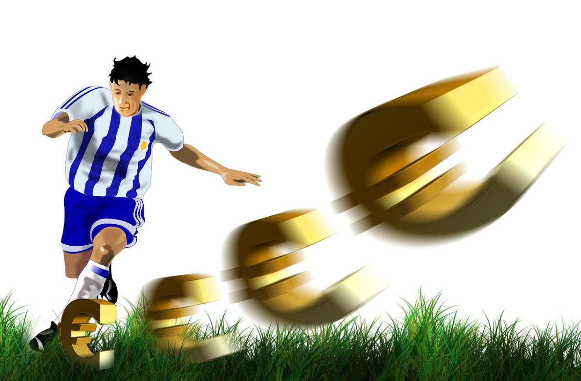 fotbalista a peníze