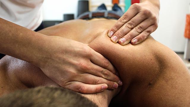 ulevující masáž