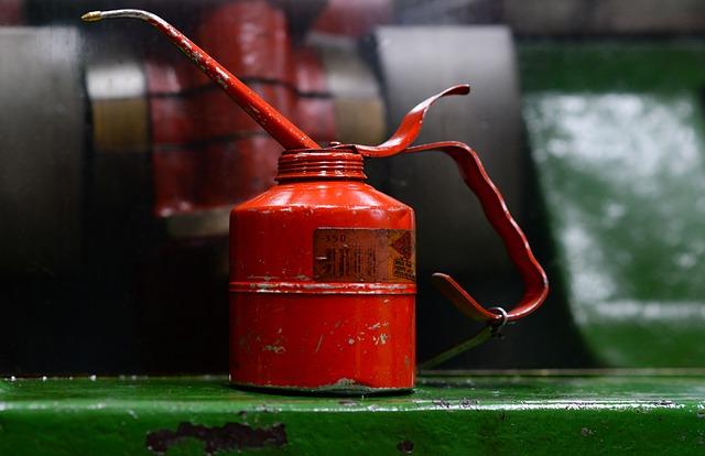 nádoba na olej