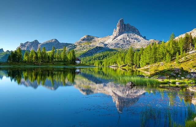 croda da lago itálie