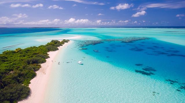pobřeží Malediv