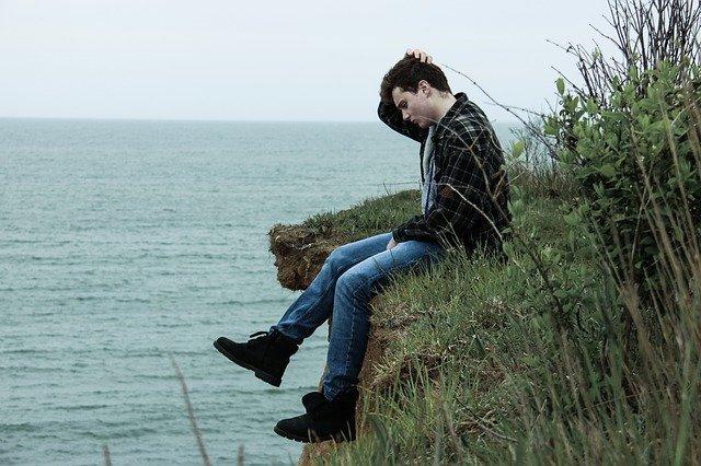 kluk na útesu