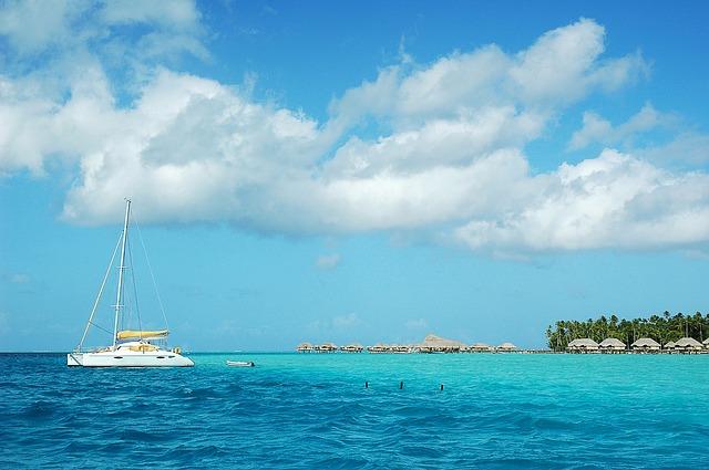 pobřeží Tahiti