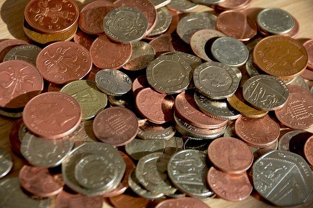 peníze, mince